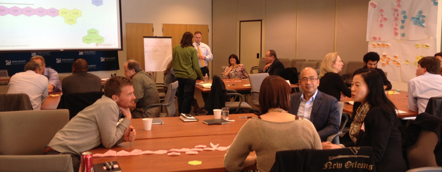 Practitioner workshop, New York (courtesy of Cognitive Edge)